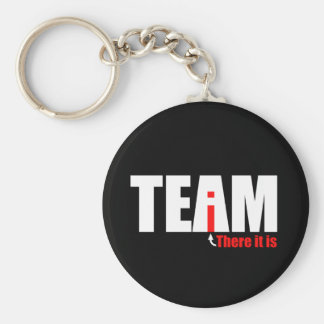 The i in TEAM Keychain