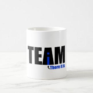 The i in TEAM Classic White Coffee Mug