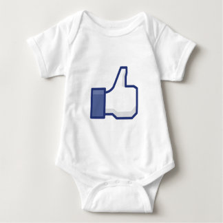 THE 'I LIKE HAND' PICTURE BABY BODYSUIT