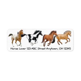 The I Love Horses Label