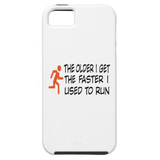 The i older get i the faster used to run funda para iPhone SE/5/5s