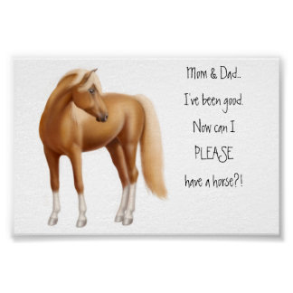 The I Want a Horse Poster