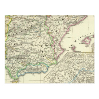 The Iberian Peninsula from 1257 to 1479 Postcard