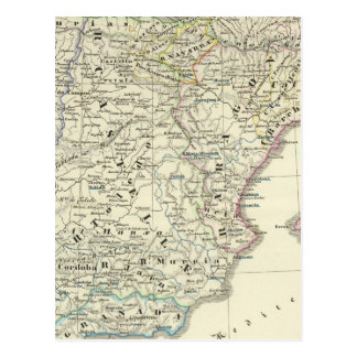 The Iberian Peninsula Postcard
