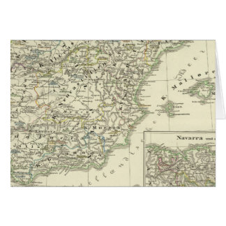 The Iberian peninsula since the beginning Card