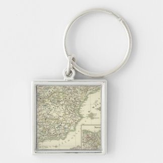 The Iberian peninsula since the beginning Key Chain