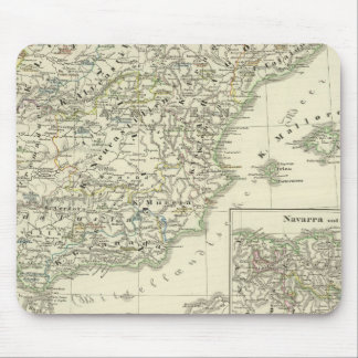 The Iberian peninsula since the beginning Mouse Pad