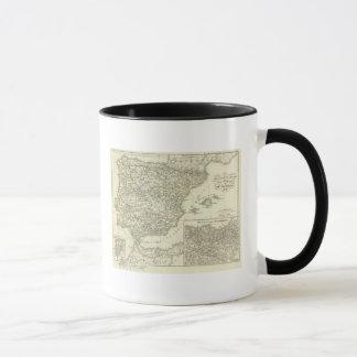 The Iberian peninsula since the beginning Mug
