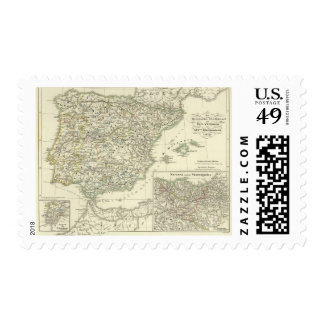 The Iberian peninsula since the beginning Stamps