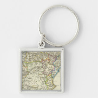 The Iberian peninsula to their church Keychains