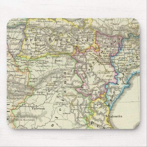 The Iberian peninsula to their church Mouse Pad