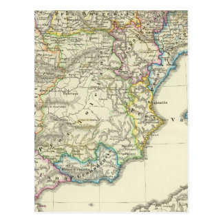 The Iberian peninsula to their church Postcard