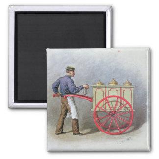 The Ice Cream Seller, 1895 Magnet