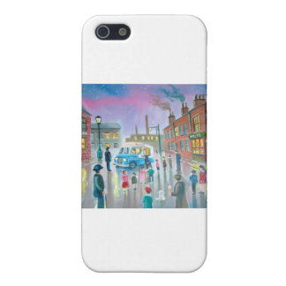 The Ice Cream Van oil painting Case For iPhone SE/5/5s