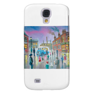 The Ice Cream Van oil painting Galaxy S4 Cover