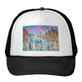 The Ice Cream Van oil painting Trucker Hat