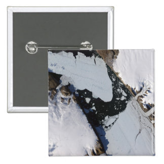 The ice island 2 inch square button