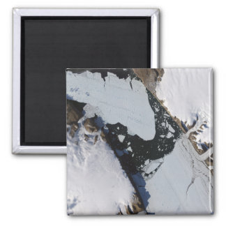 The ice island 2 inch square magnet