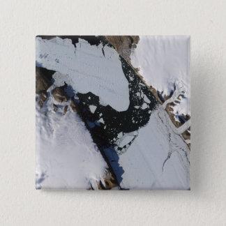 The ice island pinback button