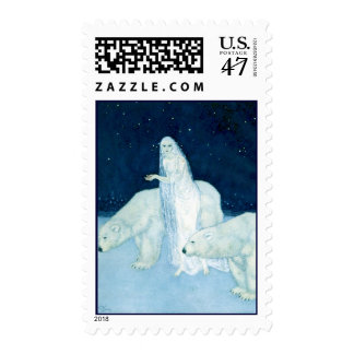 The Ice Maiden by Edmund Dulac  Postage