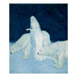 The Ice Maiden by Edmund Dulac Poster