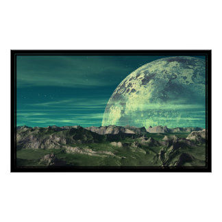The Ice Moon of Velloria Poster