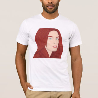 The ice princess - Red hair, green eyes T-Shirt