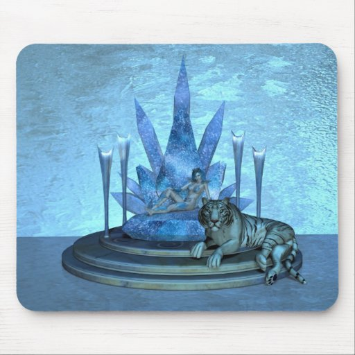 The Ice Queen Mouse Pad