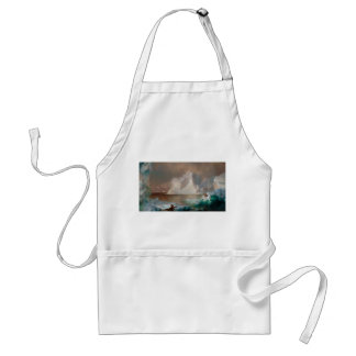 The Icebergs by Frederic Edwin Church 1861 Adult Apron