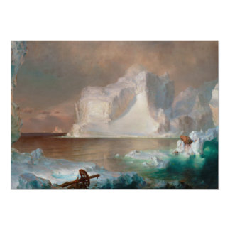 The Icebergs by Frederic Edwin Church 1861 Card