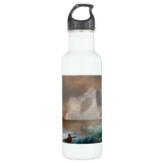 The Icebergs by Frederic Edwin Church 1861 24oz Water Bottle