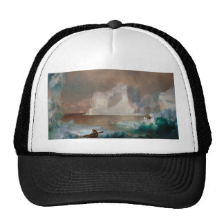 The Icebergs by Frederic Edwin Church 1861 Trucker Hat
