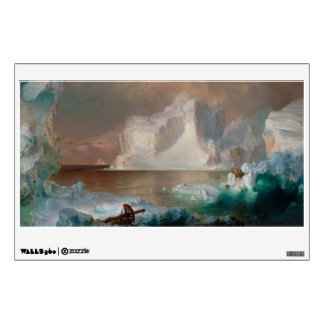 The Icebergs by Frederic Edwin Church 1861 Wall Graphics