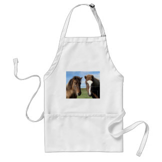 The Icelandic Horse - A Real Friend Adult Apron