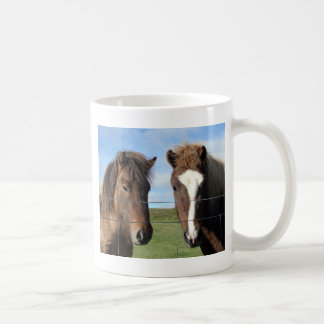The Icelandic Horse - A Real Friend Classic White Coffee Mug