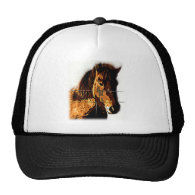 The Icelandic Horse - A Real Friend Mesh Hats