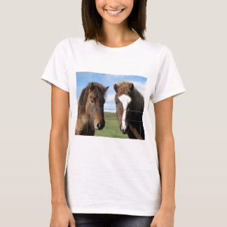 The Icelandic Horse - A Real Friend T-Shirt