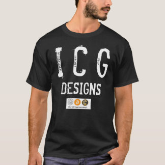 THE ICG DESIGNS BLACKED OUT CRYPTO TEE