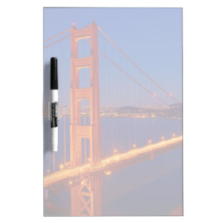 The iconic bridge with San Francisco Dry-Erase Board