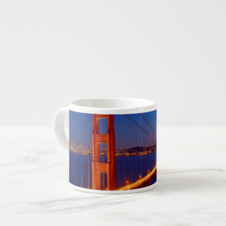 The iconic bridge with San Francisco Espresso Cup