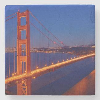 The iconic bridge with San Francisco Stone Coaster