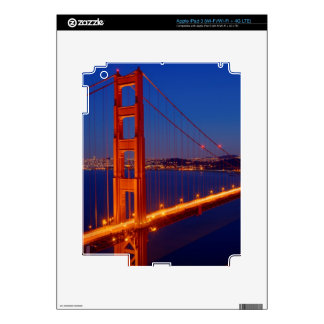 The iconic bridge with San Francisco iPad 3 Skin