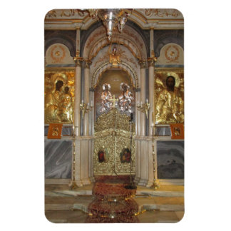 The iconostasis, church of the Metamorphis, Syros Magnet
