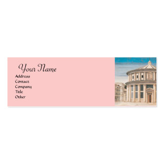 THE IDEAL CITY ,Renaissance Architect Double-Sided Mini Business Cards (Pack Of 20)