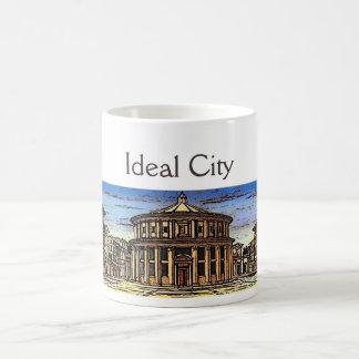 THE IDEAL CITY /RENAISSANCE ARCHITECTURE,ARCHITECT COFFEE MUG