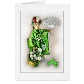 The Ideal Geisha Greeting Card