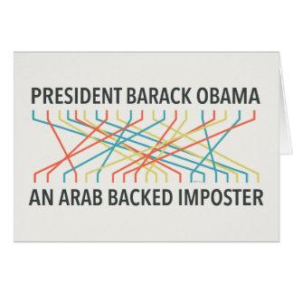 The Identity of Barack Obama Card