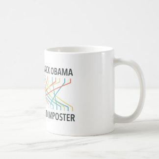 The Identity of Barack Obama Coffee Mug