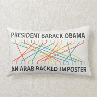 The Identity of Barack Obama Pillow
