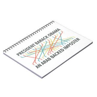 The Identity of Barack Obama Spiral Notebook